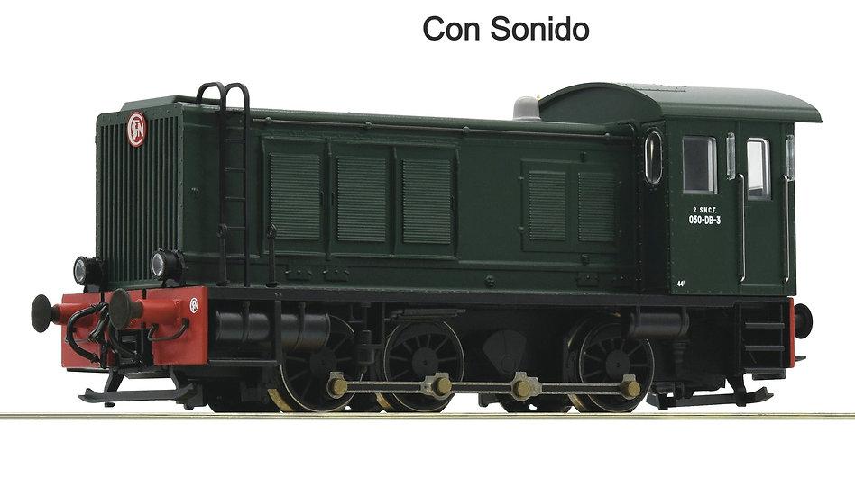 Roco 72813. Locomotora diésel clase 030, SNCF, Ép III [Con Sonido]