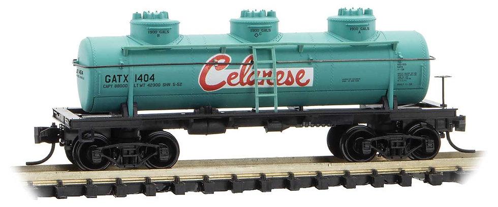 Micro Trains Line 6600140, Carro cisterna  39' Celanese GATX 1404