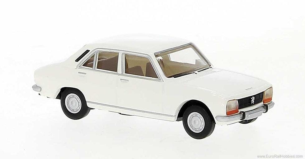 Brekina 29120, Peugeot 504, blanco