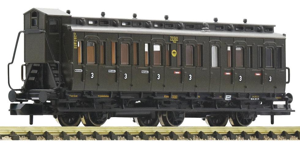 FLEISCHMANN 807005. Abteilwagen  3. Klasse, DRG