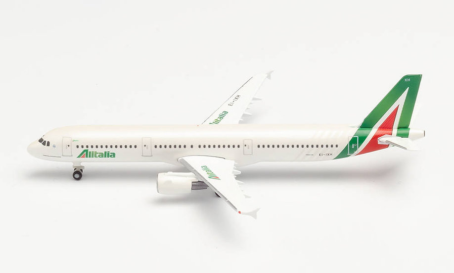 Herpa 533959, ALITALIA AIRBUS A321 (1:500)