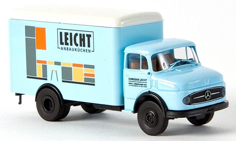 Brekina 47011, Mercedes L 322 Koffer, Leicht Anbauküchen
