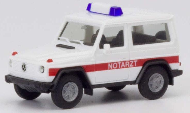 """Herpa 094818,   Mercedes-Benz G-Modell """"Notarzt"""""""
