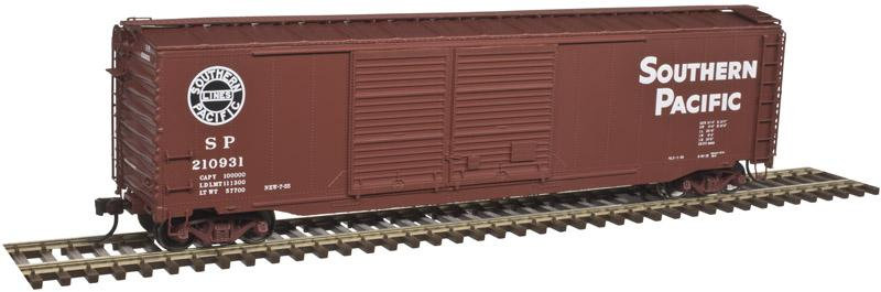 Atlas 4419, box car 50' puerta doble, Southern Pacific