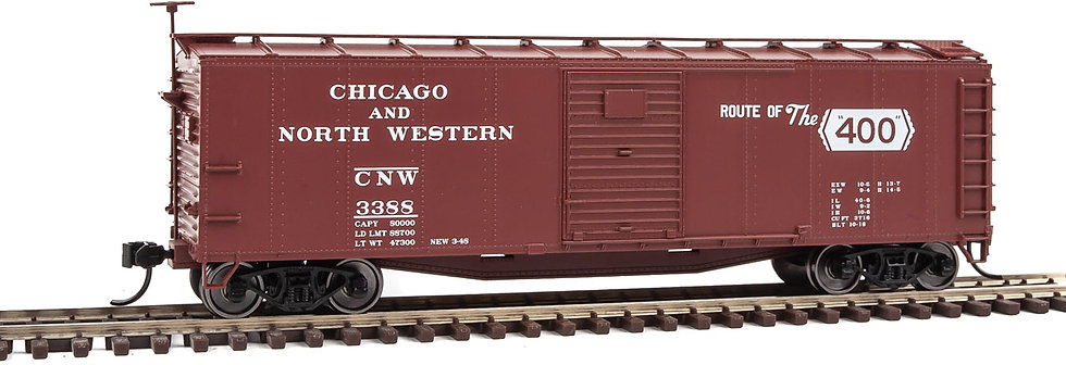 Walthers 91040802, Boxcar  40'  Chicago & North Western