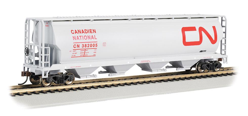 Bachmann Silver 19113, Hopper de grano CN