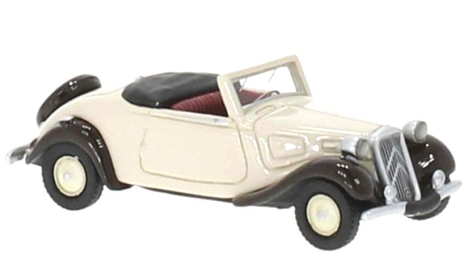 BOS 87731, Citroen Traction Avant Cabriolet, beige 1936