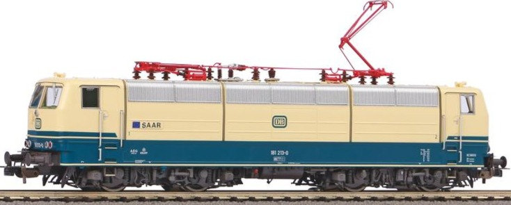"""PIKO 51344, Locomotora eléctrica  BR 181.2 """"Saar"""", DB, época III"""