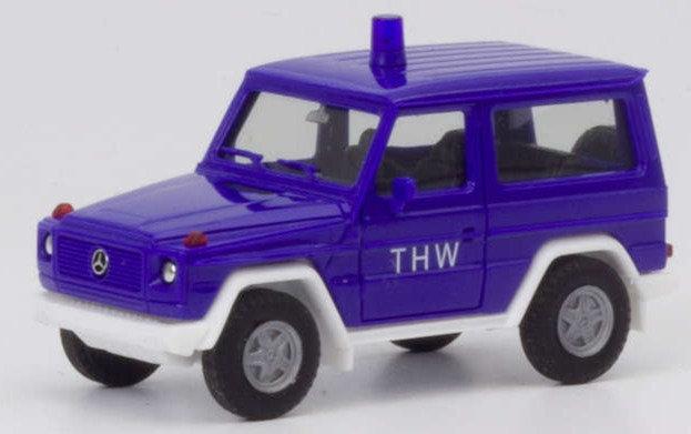 "Herpa 094825,   Mercedes-Benz G-Modell ""THW"""