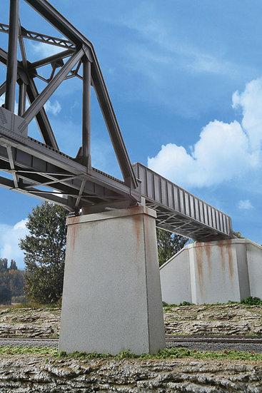 Walthers 4550, Pilares de concreto para puente de 1 vía (2 unidades)