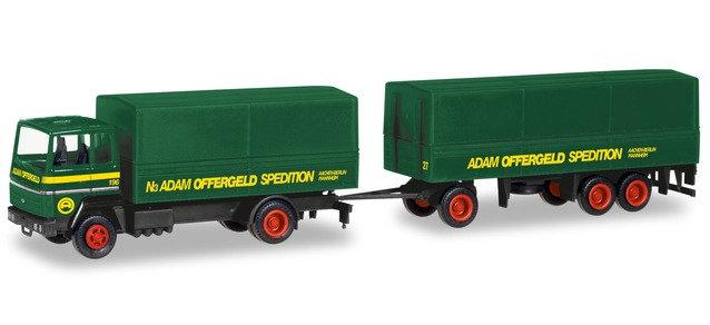 "Herpa 309820, Ford Transconti canvas trailer ""Offergeld"""
