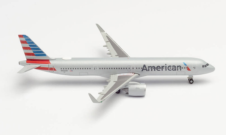 Herpa 533911,  AMERICAN AIRLINES AIRBUS A321 NEO (1:500)