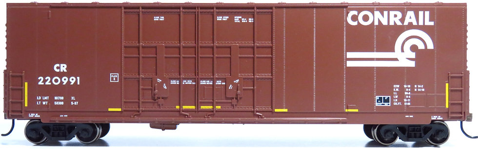 Athearn RND88137, 50' High Cube Double Door Plug Box, CR #220991