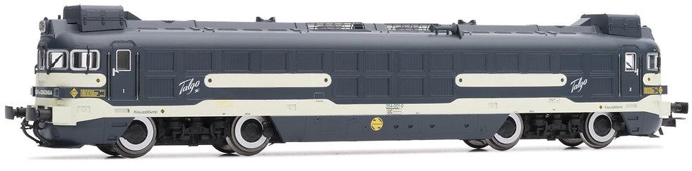 Electrotren E2365, Locomotora diésel Renfe 354-001 Virden de Covadonda, época IV