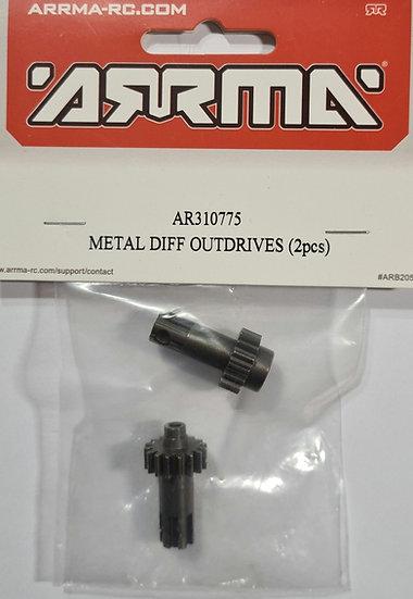 Arrma ARAC3999, Metal diff outdrives AR31075 (2 pcs)