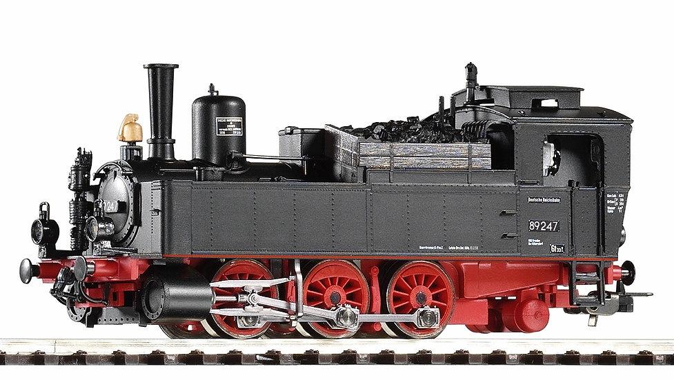 PIKO 50057. Locomotora a vapor BR 89.2, DR, época III