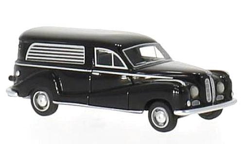 BOS 87160, BMW 502, negro, coche fúnebre, 1952