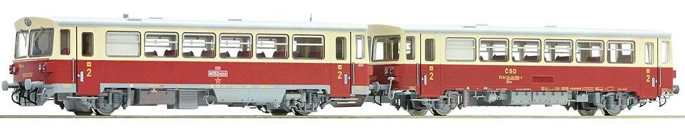 Roco 70372, Automotor diésel serie M 152.0 con remolque, CSD, época IV