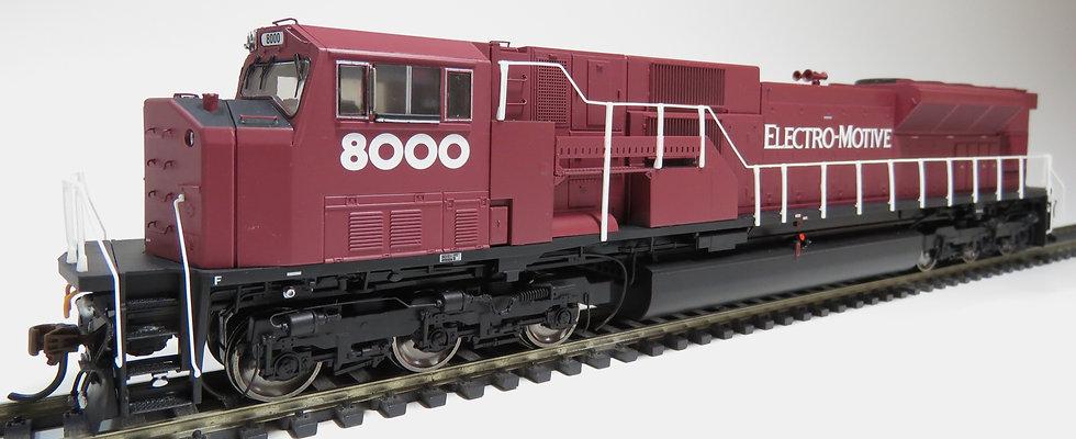 ATHEARN GENESIS ATHG27251, Locomotora SD80MAC, EMD #8000
