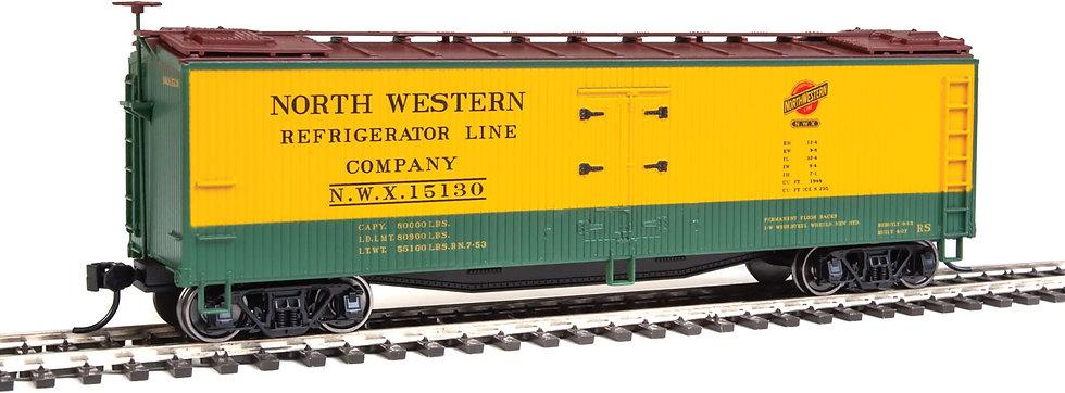 Walthers 91041212, Boxcar  40'  North Western refrigerador