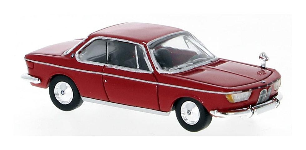 Brekina PCX870028, BMW 2000 CS, rojo, 1965