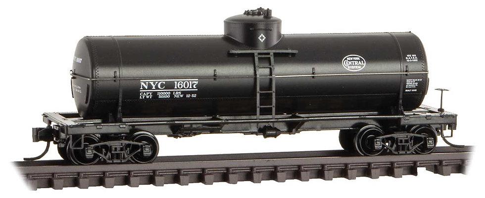 Micro Trains Line 6500106, Carro cisterna  39' New York Central 16017
