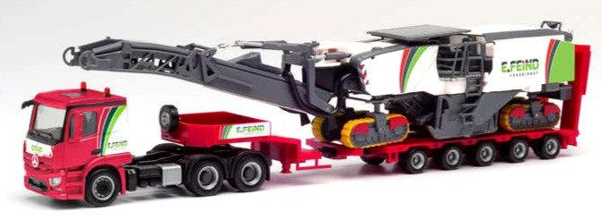 Herpa 311700, Mercedes-Benz con fresadora de asfalto Wirtgen  250i