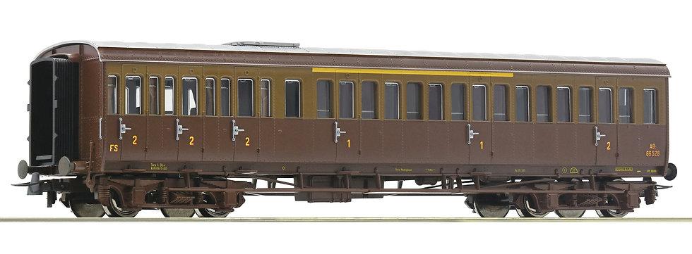 Roco 74684, Coche de pasajeros de 1°/2° clase, FS. Época III