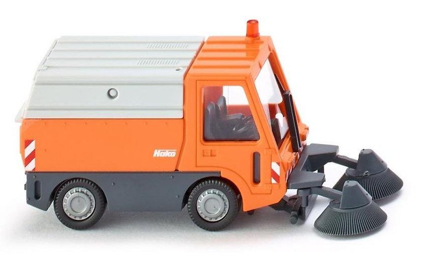 WIKING 65704, camión barre calle Kommunal  Hako Citymaster 1750
