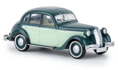 Brekina 24558, BMW 326, verde / verde claro, TD