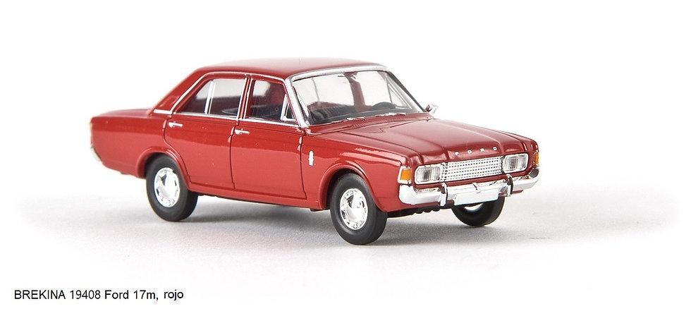 BREKINA 19408 Ford 17m, color rojo