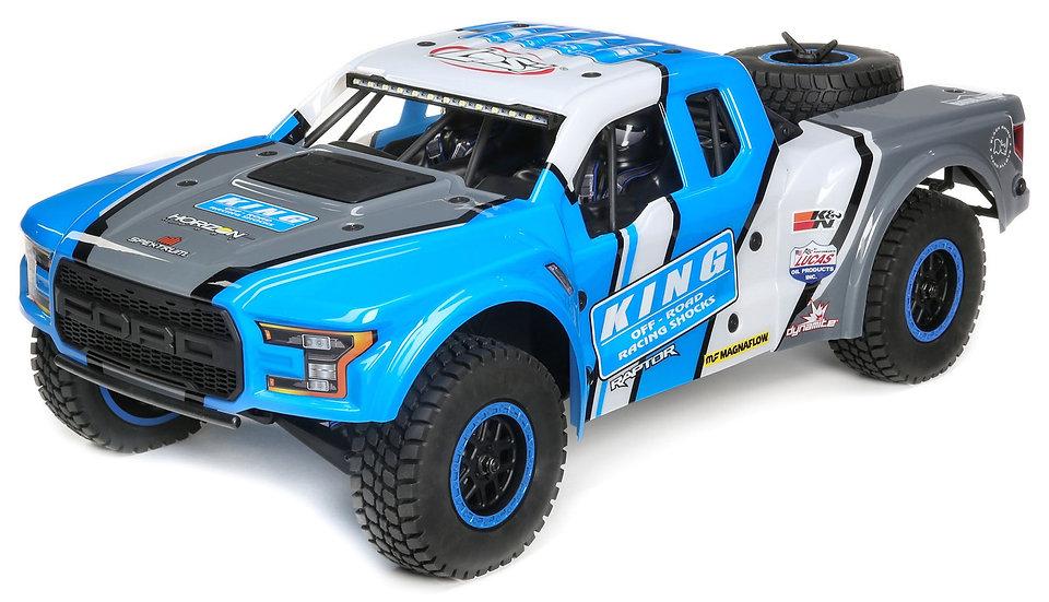 LOSI LOS03020T1, 1/10 Ford Raptor Baja Rey 4WD Desert Truck Brushless RTR