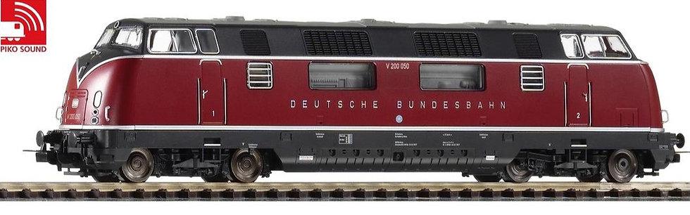 PIKO 59708, Locomotora diésel V200.050, DB, época III