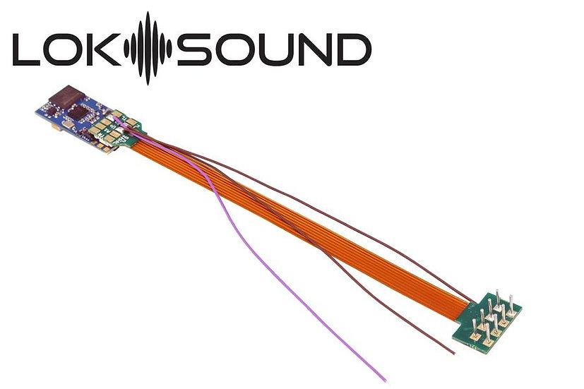 ESU 58810, LokSound 5 MICRO  DCC/MM/SX/M4, 8-pin NEM652, con parlante