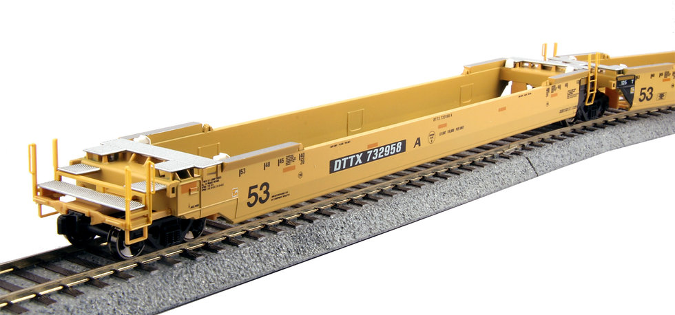 Kato 309052, Gunderson MAXI-IV Double Stack Well Car Set - TTX