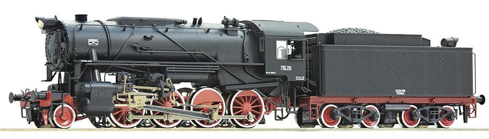Roco 73044, Locomotora a vapor clase 736, FS,  época III