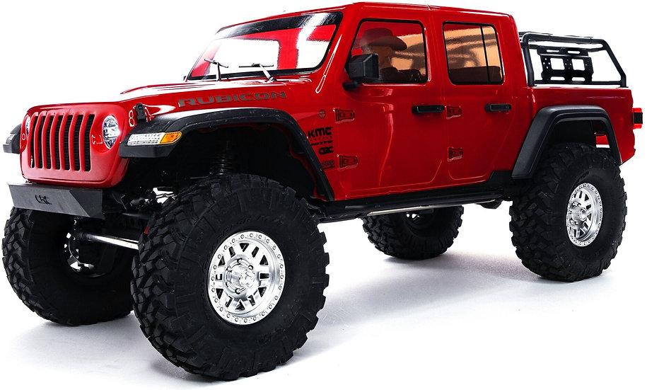 AXI03006T2, 1/10 SCX10 III Jeep JT Gladiator Rock Crawler con Portals RTR