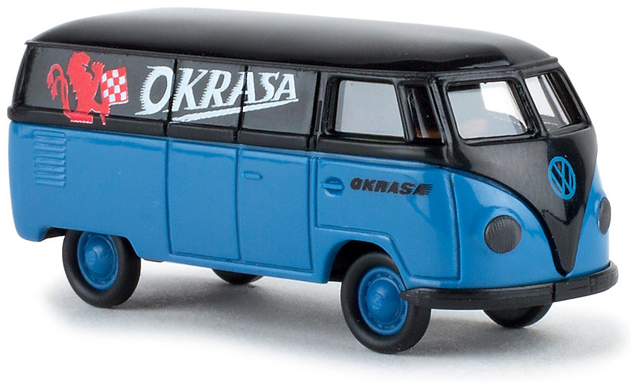 Brekina 32054, VW T1a Kasten, Okrasa