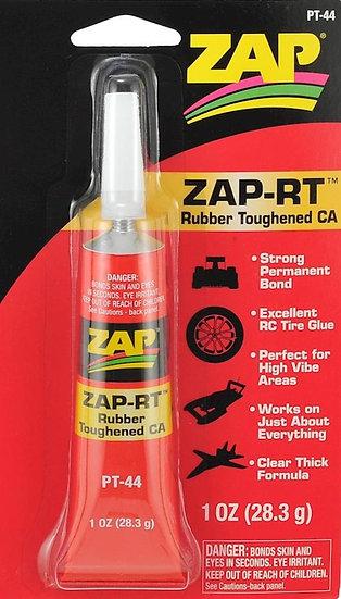 Zap PAAPT44, adhesivo cianoacrilato con caucho CA