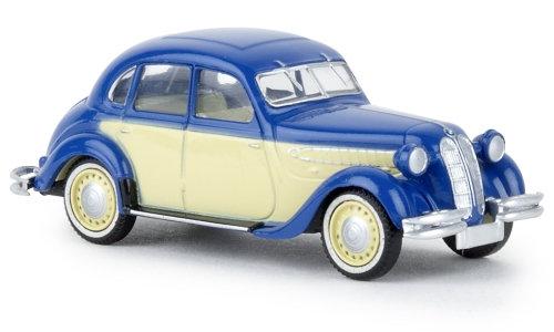 Brekina 24559, BMW 326, azul / beige claro, TD