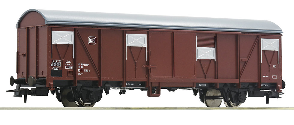 Roco 76674. Vagón tipo boxcar, DB