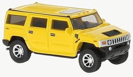 BOS87451, Hummer H2 amarillo