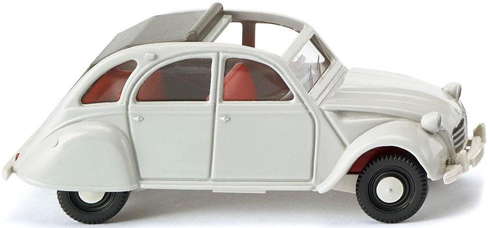 Wiking 080914, Citroën 2 CV gris claro
