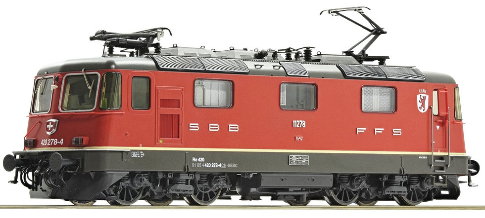 Roco 73258, Locomotora eléctrica 420 278-4, SBB, época VI