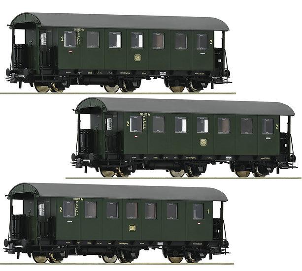 Roco Pack 3 x Coches alemanes, DB, época III