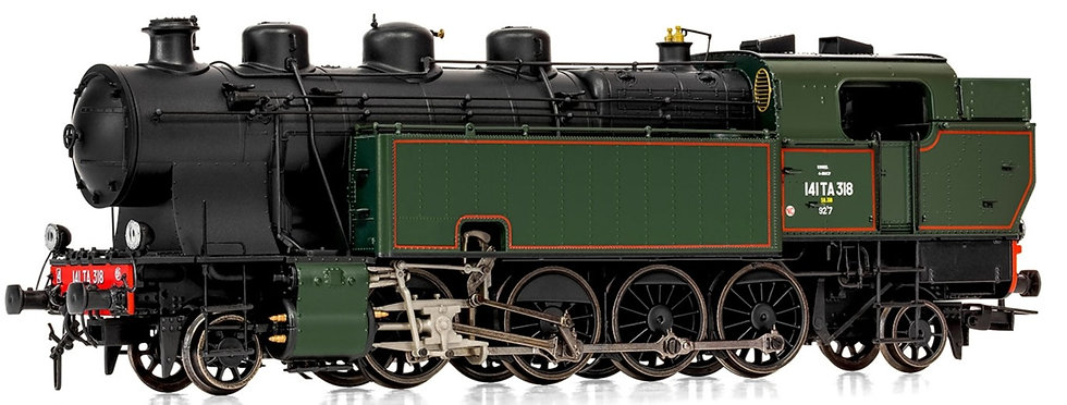 Jouef HJ2377, Locomotora vapor 141 TA 318, época III