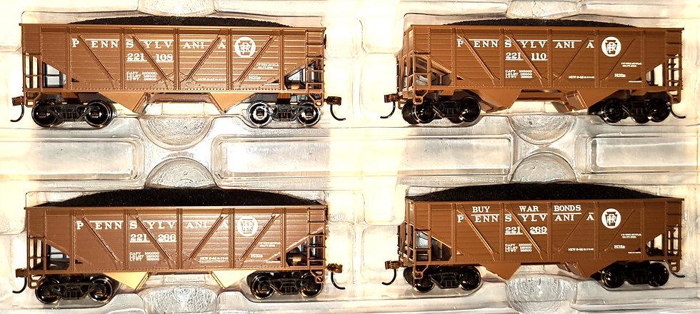 Athearn RND70906, Carro tipo Hopper doble descarga PRR