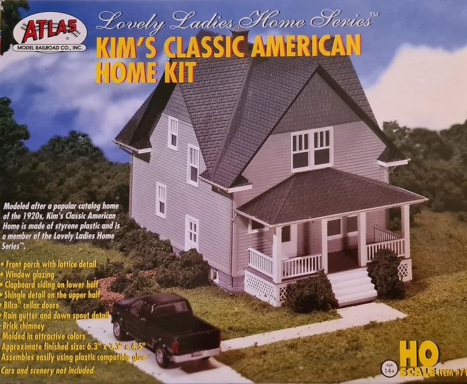 Atlas construcción casa americana 1/87