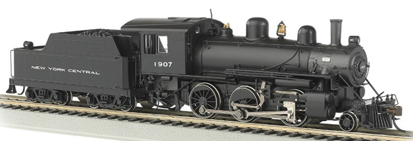 Bachmann 51708. Locomotora vapor, Alco 2-6-0 New York Central
