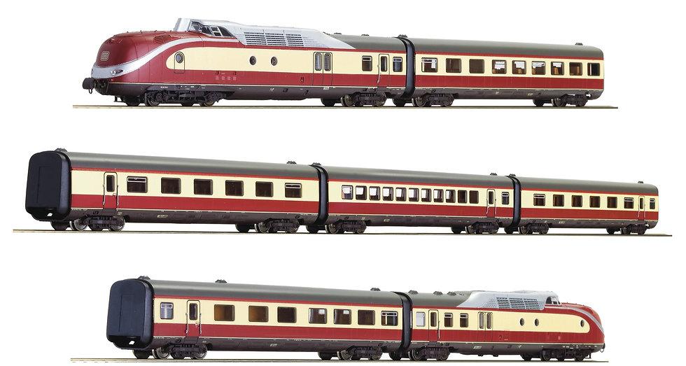 """Roco 71934. Automotor BR 601 """"Alpen-See-Express"""", DB, época IV"""